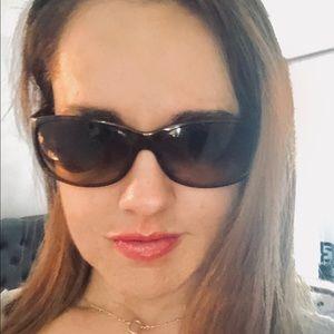 Prada Brown Wrap Sunglasses - Authentic